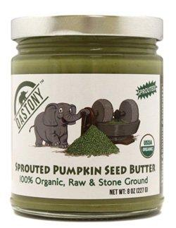 Sprouted Pumpkin Seed Butter 8 oz Jar