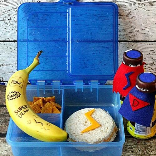 Superhero Lunch Box