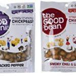 The Good Bean Crispy Crunchy Chickpeas Variety Pack Bundle of 4