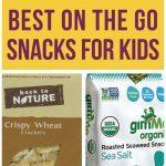 Top Picks: Best On The Go Snacks For Kids