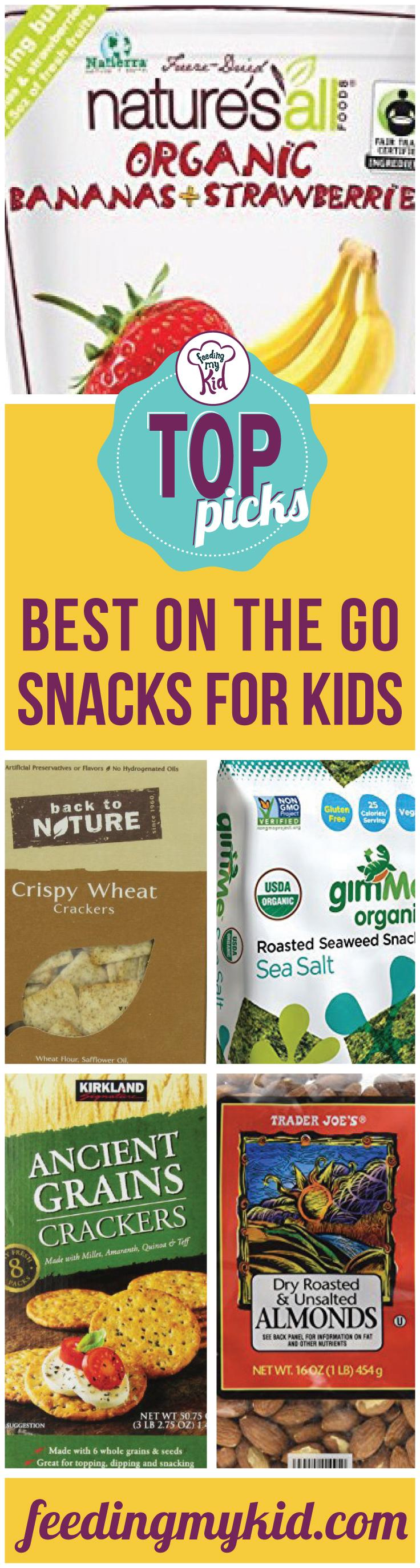 Top Picks: Best On The Go Snacks For Kids - Remember why healthy snacks are important. Snacks contribute a lot to your child's diet. Snack time is the perfect time to get nutrients in your kid. We've grouped these snacks together so it's an easier resource for you to use to find that perfect snack that you are looking for. We have edamame, chickpeas, seaweed, quinoa, crackers and dehydrated fruits & veggies. We have just what you're looking for, what you need, all here in one article made just for you, the parent on the go!