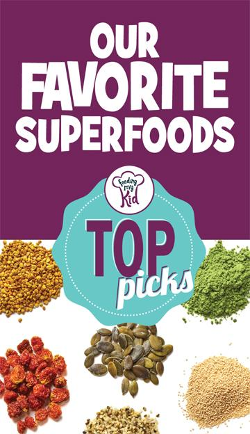 Top Picks: Our Favorite SuperFoods for Kids - Superfoods are not elusive or expensive and easily can be supplemented in a meal, eaten as a snack, packed into your child's lunchbox, or enjoyed as a dessert or dessert topping. These foods are packed with essential nutrients.