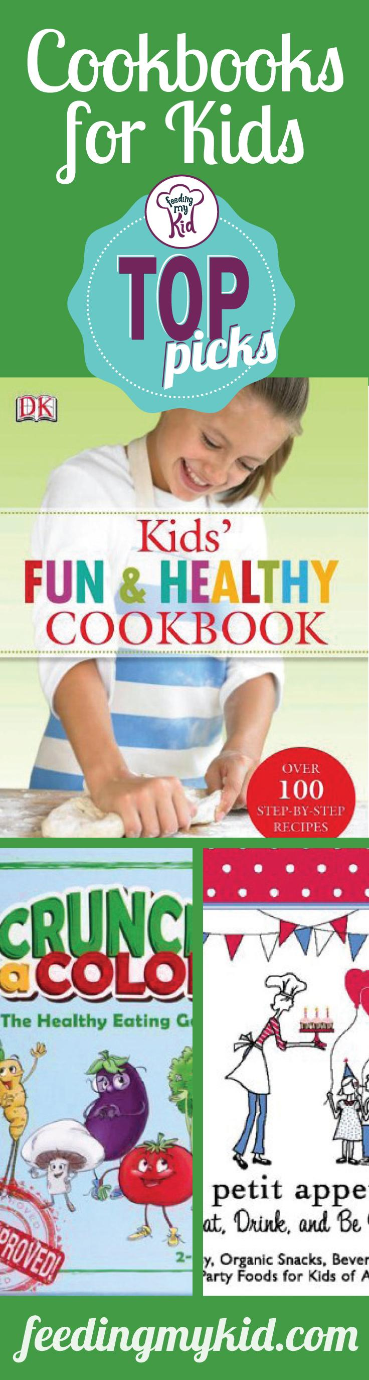 Top Picks: Cookbooks for Kids - Reading with your child and working together cooking foods is a great way to construct strong lasting bonds and to foster a healthy relationship between your child and the food he eats. Check out our article on cookbooks; you won't regret it!