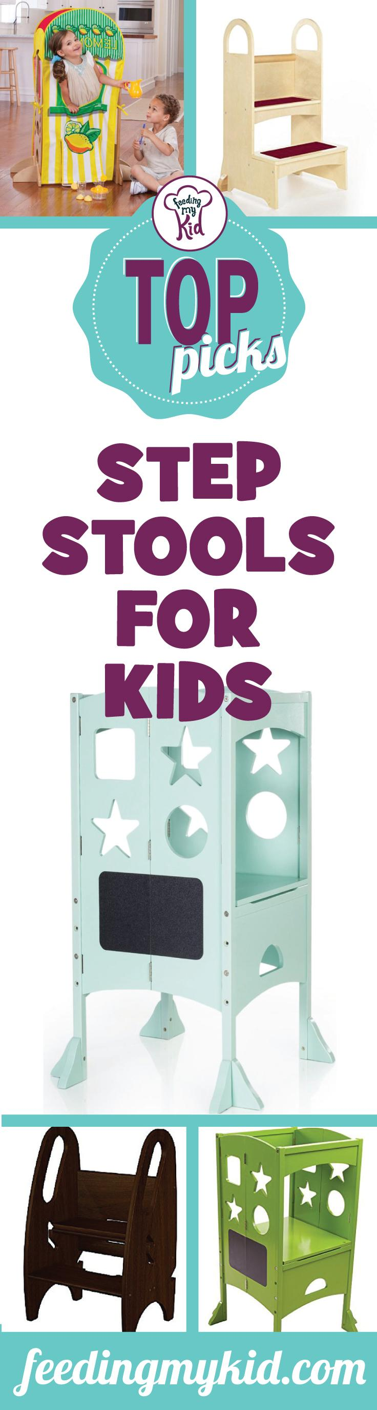 Top Picks: Step Stools for Kids