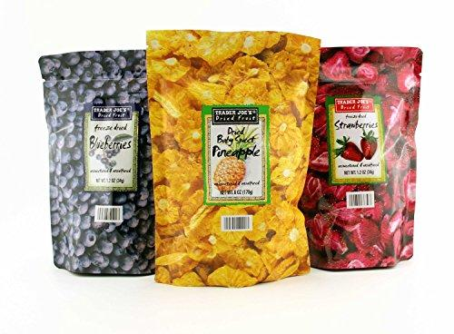 Trader Joe's Freeze Dried Fruit Assortment