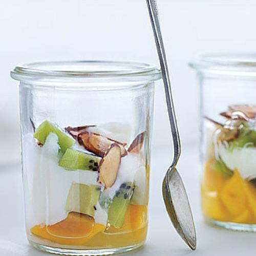 Tropical Fruit Parfait