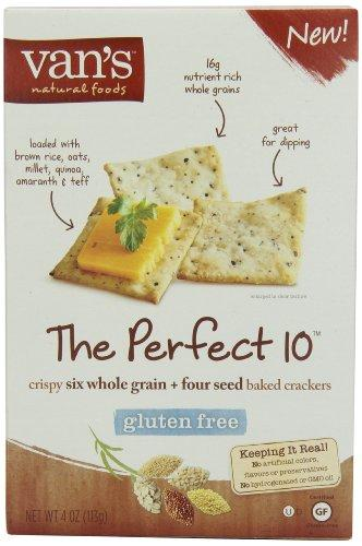 Van's, The Perfect 10 Crackers, 4 oz