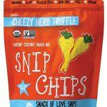 Wonderfully Raw Snip Coconut Chips – Cheezy Herb Truffle – 2 oz