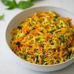 Zucchini And Carrot Hash