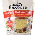 Flax USA 100% Natural Organic Flax Cold Milled Ground Golden Flax Seed, 48-Ounce Pack