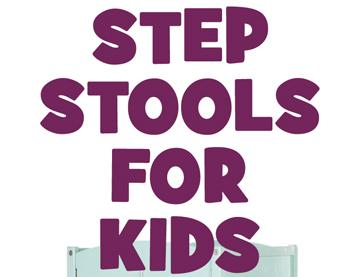 Learning Tower Kids Adjustable Height Kitchen Step Stool