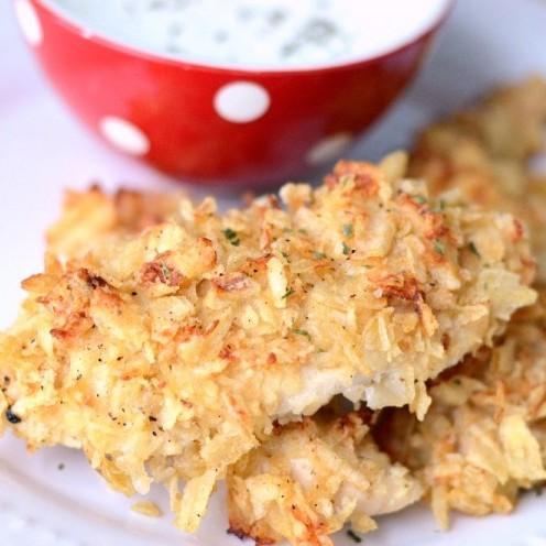 3 Ingredient Potato Chip Chicken
