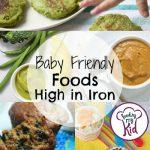 Baby Friendly Foods High in Iron
