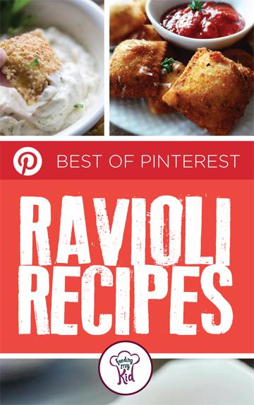 The Best of Pinterest Ravioli Recipes - Here you'll find the Perfect ravioli recipe that the whole family will enjoy. From homemade ricotta and spinach filled ravioli to fried ravioli with spicy marinara. These recipes are delicious and ready to serve!