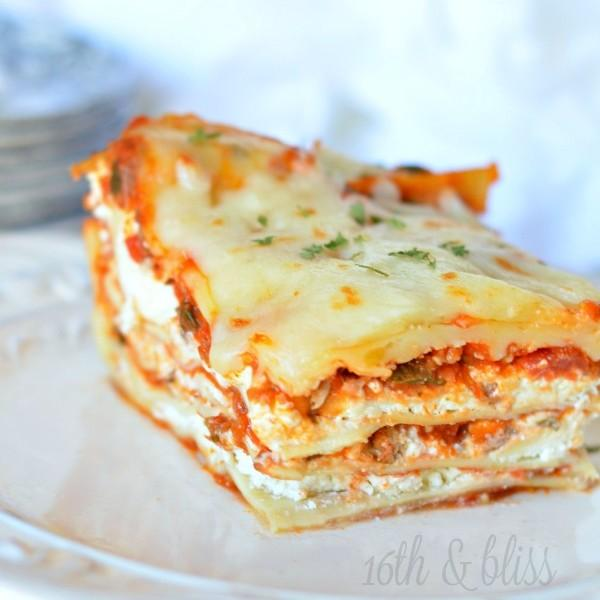 Cream Cheese Lasagna