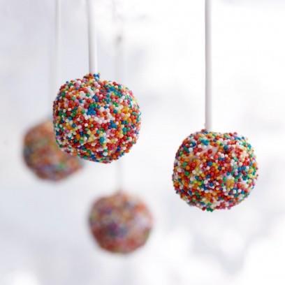Disco Ball Cake Pops