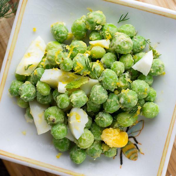 Fresh Spring Pea Salad