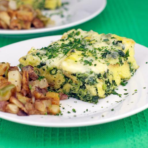 Green Egg Casserole