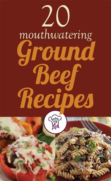 20 Mouthwatering Ground Beef Recipes - These recipes were selected with a lot of care, so you know you're getting the best beef recipes. From sweet potato ground beef pie to bakes cilantro meatballs; these recipes are sure to please even the pickiest of eaters.