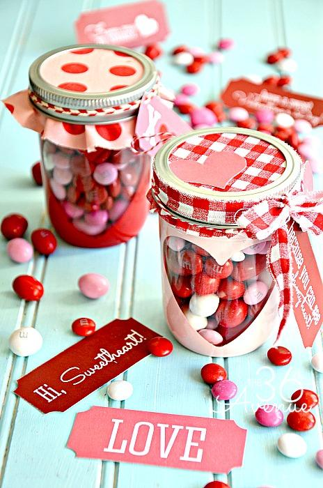 Heart Candy Jar