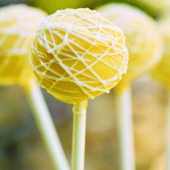 Lemon Poppy Seed Cake Pops