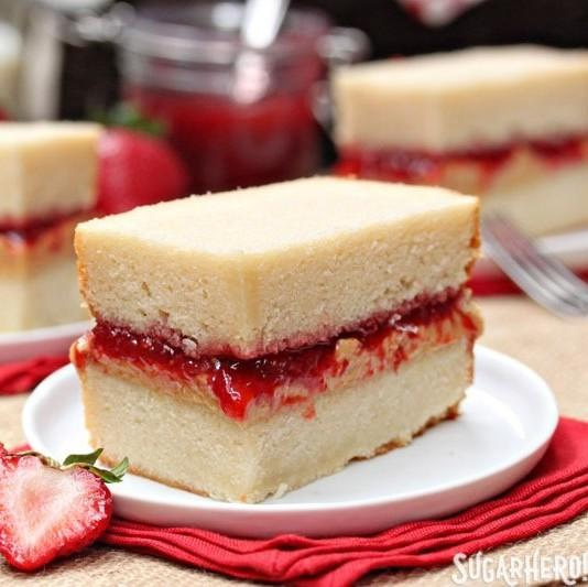 Peanut Butter And Jelly Sandwich Cake