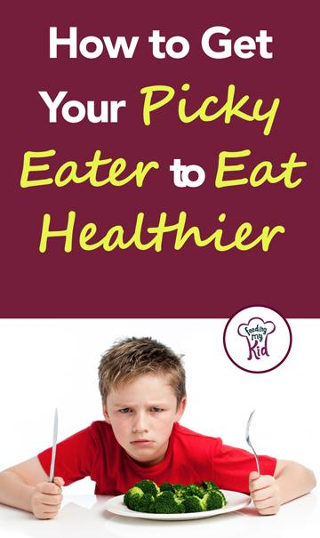 How to Get Your Picky Eater to Eat Healthier - The problem is is that veggies have a lot to contend with. They are likely to lose against any of a number of foods, especially against sugary foods, such as yogurts, pop tarts or ice cream. Find out how to get your kid to eat healthier here!