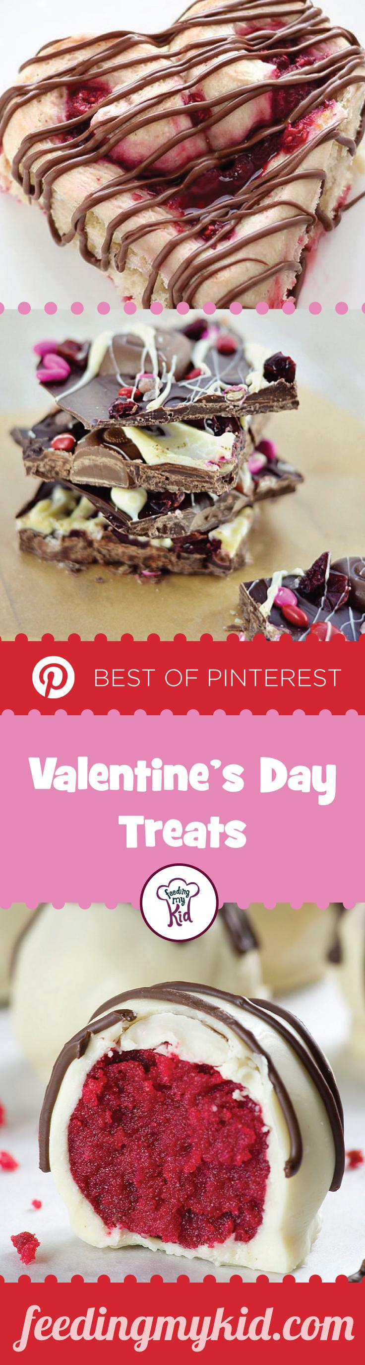 The Top Pinterest Valentine's Day Treats - We handcrafted and handpicked the top Pinterest Valentine's Day treats! They're perfect for that special someone or for that secret admirer. From Valentines Day Chocolate Dipped Wafer Cookies to Layered Strawberry Jello Cups; these treats are sure to please everyone!
