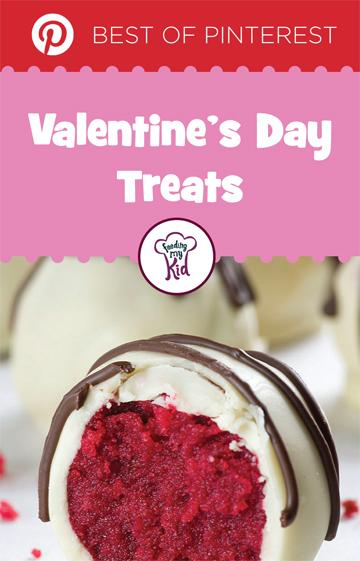 The Top Pinterest Valentine's Day Treats - Valentine's Day is that time of year where you can show how you feel about that special someone. What better way to share the love than with perfectly delicious treats made with the heart in mind.