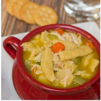 Quick Chicken Noodle Soup With Homemade Egg Noodles