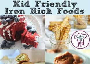 Kid Friendly Iron Rich Foods
