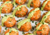 Save these salmon recipes! The healthiest fish in the sea just got tastier! Try salmon baked or broiled, in perogies or as a spread! The options are endless and kid-approved. Pin these savory salmon recipes for future reference!