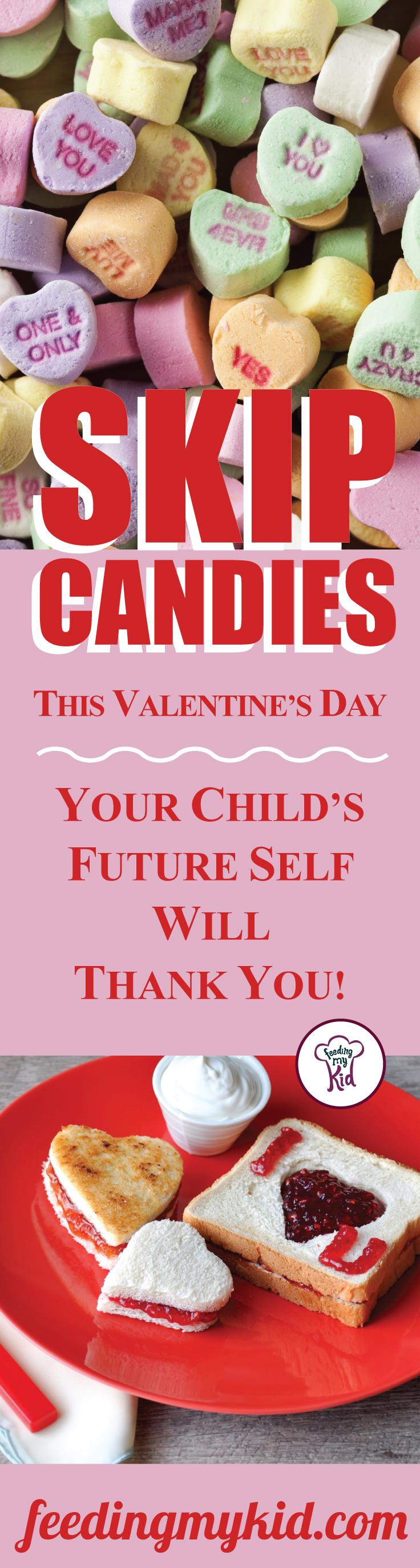 Skip Candies This Valentine's Day. Your Child's Future Self Will Thank You. - Instead of indulging in typical Valentine's Day sweets, why not make this year about healthy eating and developing good habits for your kids? With two thirds of all adults in the U.S. now overweight or obese and one-third of all children overweight or obese, why don't we start changing how we celebrate holidays?