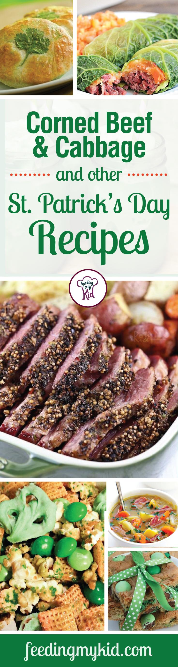 Corned Beef and Cabbage and Other St. Patrick's Day Recipes - Show some Irish spirit by not only wearing green, but by cooking up these Irish-inspired recipes. From corned beef and cabbage quesadillas to an Irish breakfast wrap. Show your Irish spirit this season by exploring some new avenues of cooking and diving into these wonderful recipes.