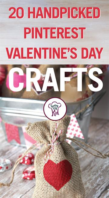 20 Handpicked Pinterest Valentine's Day Crafts - Not too sure what to do for Valentine's Day with your kids? This Valentine's Day, why don't you do arts and crafts with your kids! From valentine's day wind chimes to a little minion.