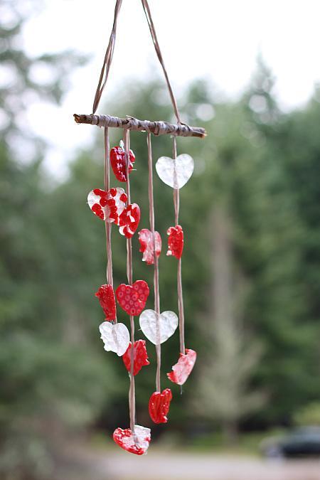 Valentine's Day Wind Chimes