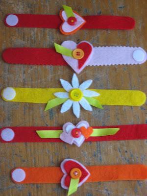 Valentine Wristlets