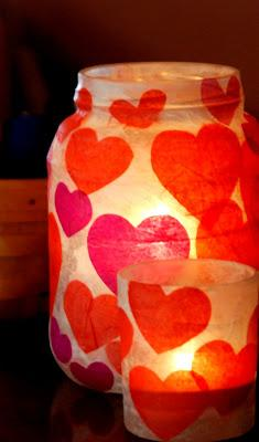 Valentines Day Votives