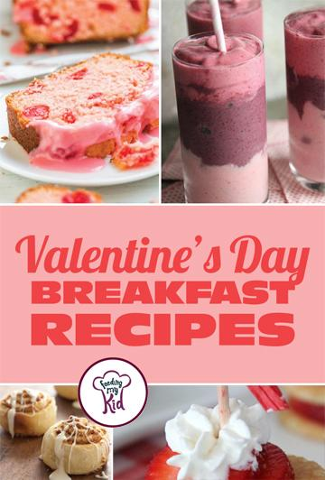 Valentine's Day Breakfast Recipes - Valentine's Day is here! Having trouble finding the perfect recipes to make for that special someone! Well, we've got you covered! From heart pancake skewers to a strawberry coconut breakfast pie.