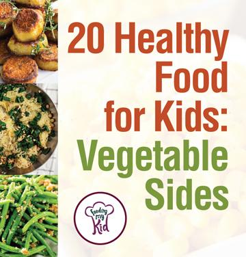 20 Healthy Food for Kids: Vegetable Sides - From baked zucchini with mozzarella to parmesan ranch corn; these recipes will surely please even the pickiest of eaters.