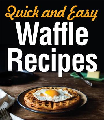 Quick and Easy Waffle Recipes - We put together the perfect list of easy waffle recipes just for you. These recipes are filled with rich, fluffy waffles and perfect for the person on the go! From a Monte Cristo waffle sandwich to waffle iron hash brown breakfast potatoes; these recipes are sure to please! Give them a go!
