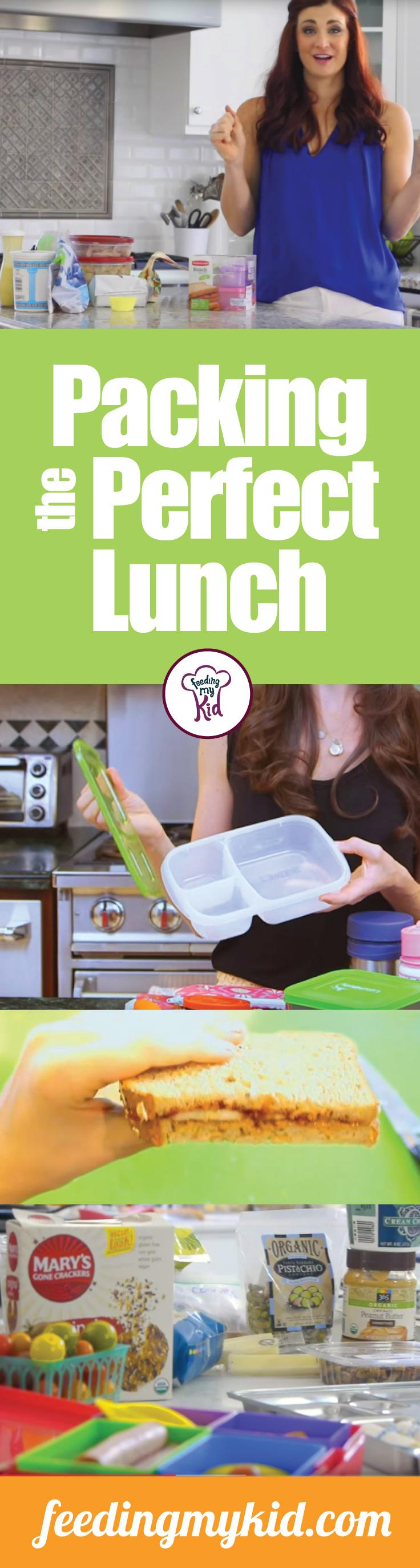 Packing the Perfect Lunch - Kid-approved and mommy-craved, these short videos on how to pack a lunch will make your life easier and your picky eater more likely to eat! Don't let the process of preparing a lunch be a burden any longer! This is a must Pin! #fmk #howtopackalunch