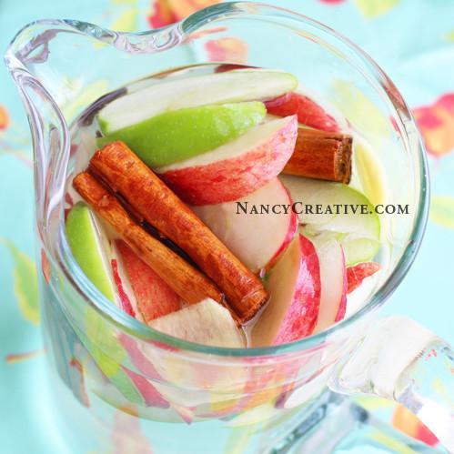 Apple Cinnamon Ginger Water
