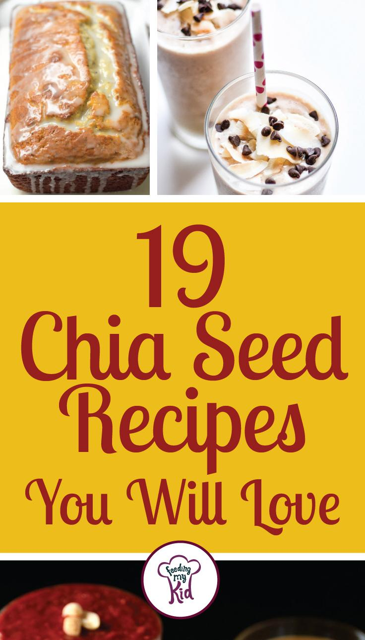 Chia Seeds Recipes You'll Love. Find out how to add Chia Seeds to every day foods. Great website for healthy recipes, dinner recipes and ways to eat clean. #easydinner #quickandeasydinnerrecipes