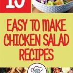 19 Easy to Make Chicken Salad Recipes