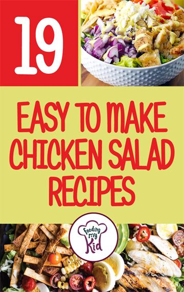 19 Easy to Make Chicken Salad Recipes - From a thai chicken salad to an easy harvest almond chicken salad; these recipes are sure to please even the pickiest of eaters. You love these recipes, even the regular traditional chicken in some green recipes we have for you! This is a must pin! #fmk #chicken #recipes
