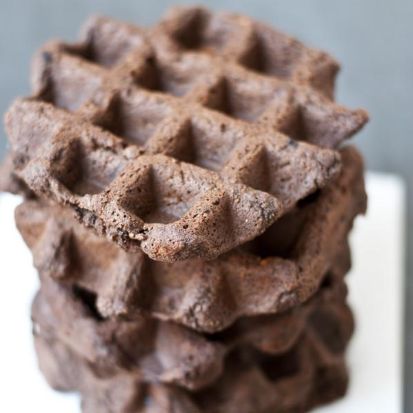 Chocolate Hemp Grain And Egg Free Waffle Recipe