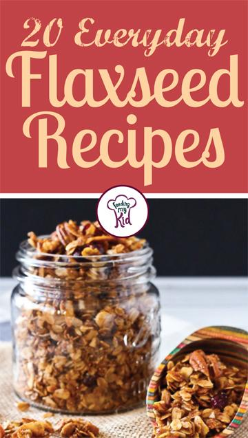 20 Everyday Flaxseed Recipes. Find out how to add flaxxeeds to every day foods. Great website for healthy recipes, dinner recipes and ways to eat clean. #easydinner #quickandeasydinnerrecipes