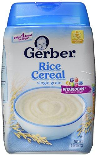 Gerber Cereal Rice