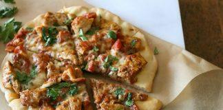Gluten Free Chicken Tikka Masala Pizza
